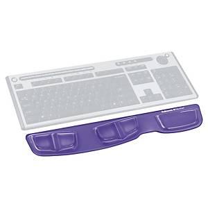 Repose-poignets clavier gel Fellowes Health-V Crystal Microban - violet