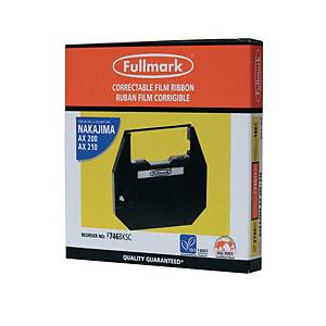 Fullmark Nakajima Compatible Typewriter Ribbon Black