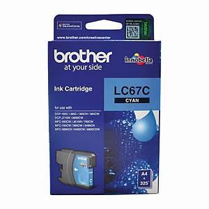 Brother LC-67C Inkjet Cartridge - Cyan