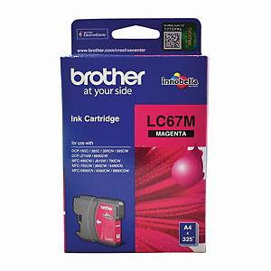 Brother LC-67M Inkjet Cartridge - Magenta