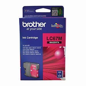 Brother LC-67M Inkjet Cartridge - Magenta
