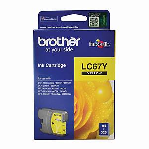 Brother LC-67Y Inkjet Cartridge - Yellow