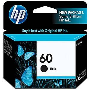 HP ตลับหมึกอิงค์เจ็ท HP60 CC640WA สีดำ