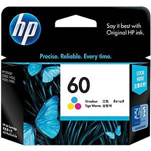 HP ตลับหมึกอิงค์เจ็ท HP60 CC643WA 3 สี