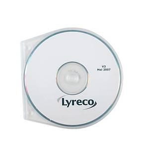 Boîtiers ronds perforés CD/DVD - paquet de 10