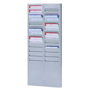 PUNCH CARD RACK 24 SLOTS