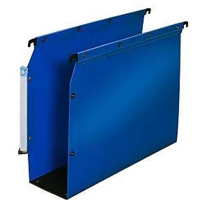 Dossier suspendu pour armoire Elba Ultimate - PP - dos 80 mm - bleu - par 10