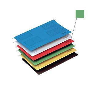 Bantex A4 Suspension File Grass Green - Pack of 25