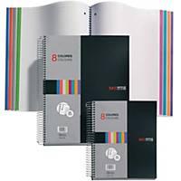Caderno espiral Miquelrius Notebook 8 - A5 - 200 folhas - quadriculado