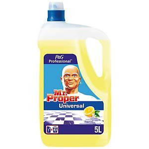 Nettoyant universel Mr. Propre Professional parfum citron, le bidon de 5 l