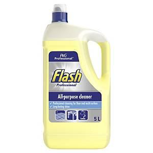 Flash Lemon All-Purpose Cleaning Liquid 5 Litre