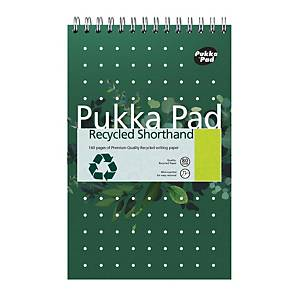 Pukka Recycled Shorthand Notebook - Pack of 3