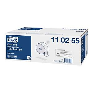 Tork premium Mini Jumbo 110255 toalettpapír, fehér