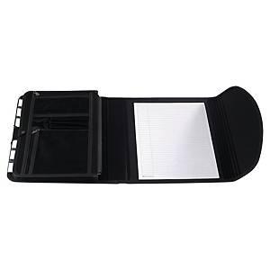 Carpeta clasificadora para congresos Exacompta - 6 compartimentos - negro