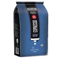 Grains de café à espresso sans caféine Douwe Egberts Dark Roast, paquet de 500 g