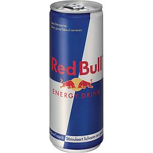 Red Bull energiedrank, pak van 24 blikken van 25 cl