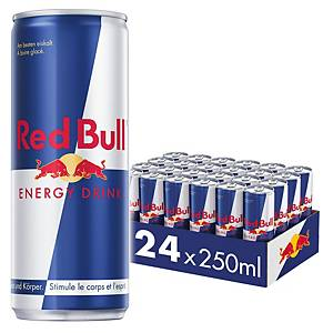 Boisson énergisante Red Bull 250ml, paq. 24canettes