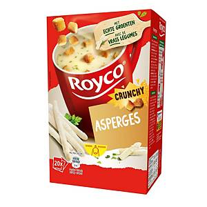 Royco Crunchy Asperges, doos van 20 zakjes