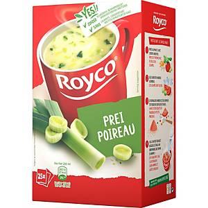 Royco Classic Poireau, la boîte de 25 sachets