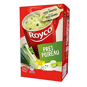 Royco soup bags - classic leek - box of 25