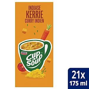 Soupe au curry Cup-a-Soup, la boîte de 21 sachets
