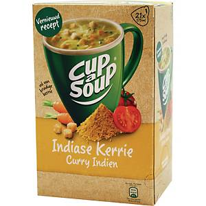 Cup-a-Soup kerriesoep, doos van 21 zakjes