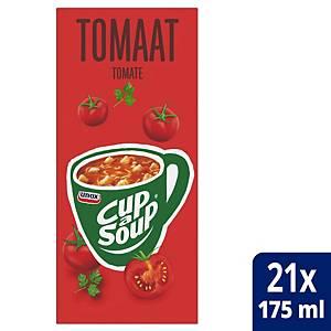 Soupe à la tomate Cup-a-Soup, la boîte de 21 sachets