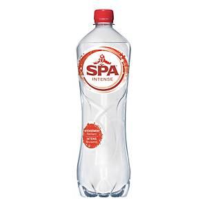 Eau pétillante Spa Intense, le paquet de 6 bouteilles de 1 l
