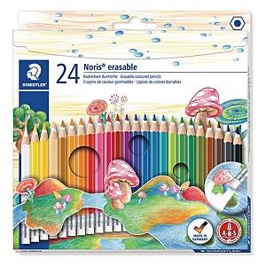 STAEDTLER Noris Club Erasable Colored Pencil - Box of 24