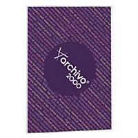 Expositor de pared adhesivo Archivo 2000 - A4 - 1 compartimento - transparente