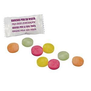 Bolsa de caramelos   Gracias por su visita   - 1 kg - surtido