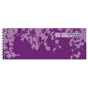 Ajasto Memo 14 pöytäkalenteri 2021 255 x 95 mm