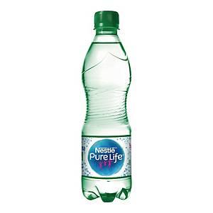 Woda źródlana NESTLÉ Pure Life gazowana, zgrzewka 12 butelek x 0,5 l