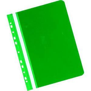 Závěsný prezentační rychlovazač Herlitz - zelený, A4