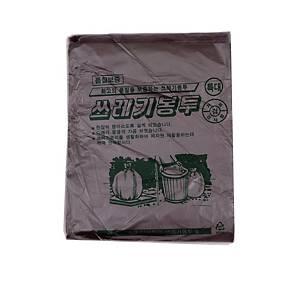 배접 쓰레기봉투 특110L (90X110) 검정 20장