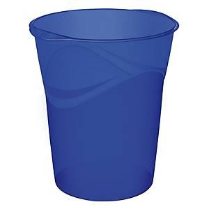 Cestino Happy by Cep polipropilene 15 L blu