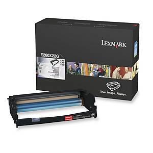 Fotoledersett Lexmark E260X22G, 30 000 sider, sort