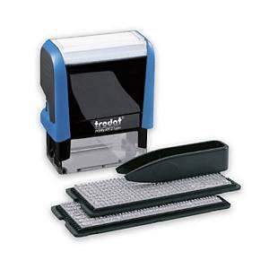 Set Timbro personalizzabile autoinchiostrante Trodat Printy 4913 typo