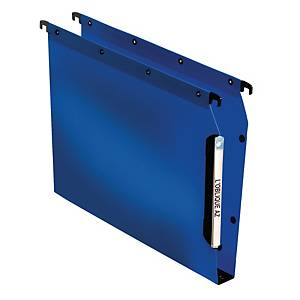 Elba Ultimate Polypropylene Lateral Suspension File A4 Blue 30mm Base - Box 25