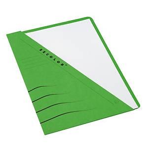 Jalema Secolor chemises à poche carton 270g vert - paquet de 100