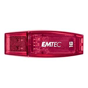 Memoria USB Emtec Color Mix C410 16 GB fucsia
