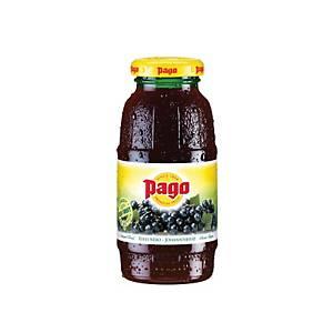 Pago Fruchtsaft schwarze Johanisbeere 0,2 l, 24 Stück