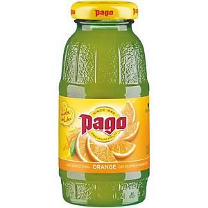 Pago narancslé üvegpalackban 0,2l, 24 palack/csomag