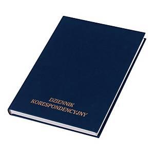 Podawczy dziennik korespondencyjny KOH-I-NOOR w twardej oprawie, 200 kartek