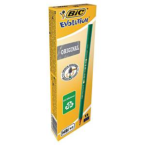 BIC Evolution Ecolutions Bleistift, HB, 12 Stk/Packung