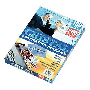 PK100 ARGO LAMINATING POUCH A5 2X80MIC