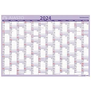 Ajasto Seinämuistio seinäkalenteri 2021 850 x 590mm