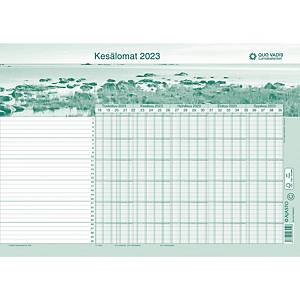 Ajasto Quo Vadis lomakalenteri 2021 - 2022