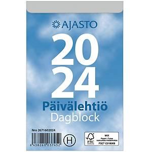 Ajasto Päivälehtiö/Dagblock seinäkalenteri 2021 83 x 128 mm