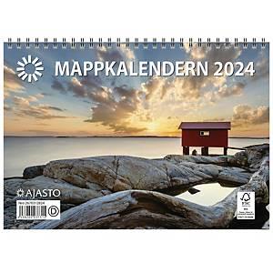 Ajasto Mappkalendern 2021 250 x 352 mm